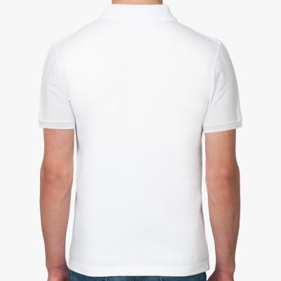Мужская рубашка поло Shady Glen, белая