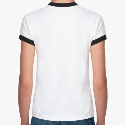 Женская футболка монтажера 'Я все смонтировала'