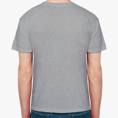 Мужская футболка Stedman, темный меланж