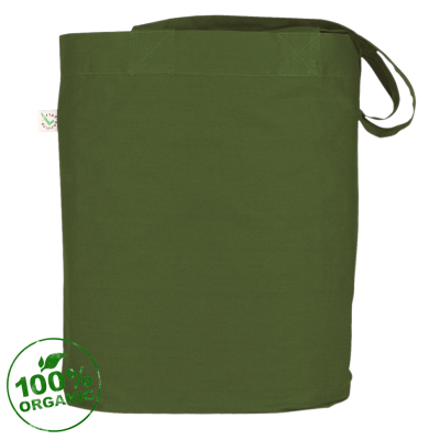Сумка Ogham-logo, темно-зелёная