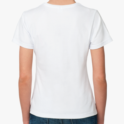 Женская футболка ROMA SKINS