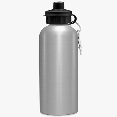 Спортивная бутылка алюминиевая