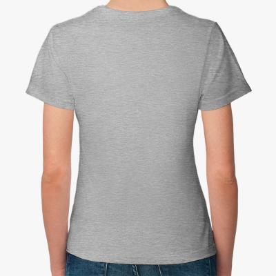 Женская футболка Fruit of the Loom, меланж