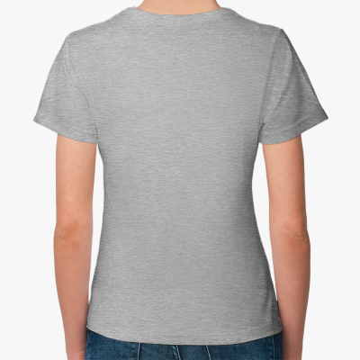 """Женская футболка """"Св. Бобер"""""""