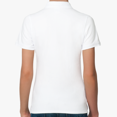 Женская рубашка поло Shady Glen, белая