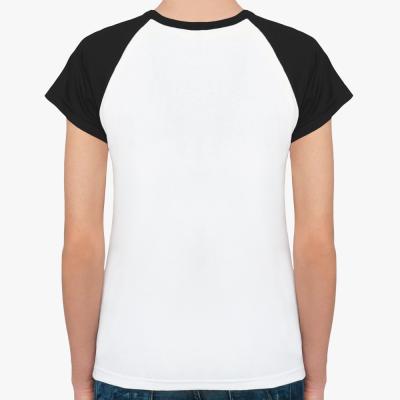Женская футболка реглан W.Angel Don't blink одностор.