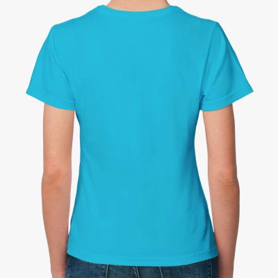 Женская футболка Fruit of the Loom, ультрамарин