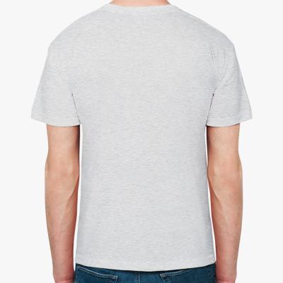 Мужская футболка Stedman, светлый меланж