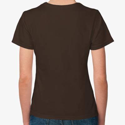 Женская футболка Сделай громче