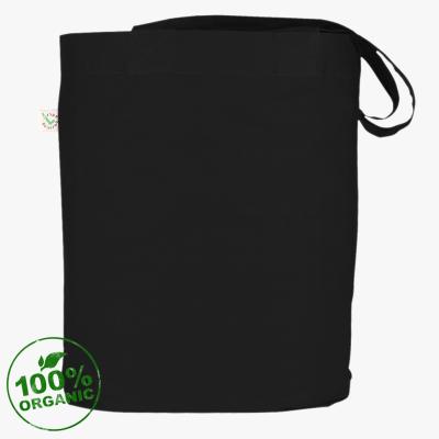Чёрная холщовая сумка Punk