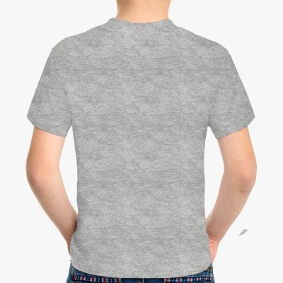 Детская футболка Never miss a chance темный меланж