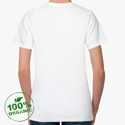 Женская футболка Stella Likes из органик-хлопка, белая