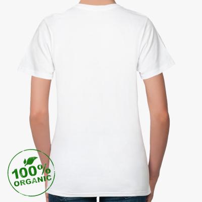 Женская футболка Continental Clothing из органик-хлопка