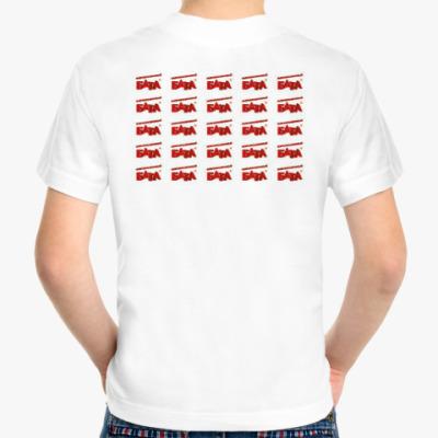 Детская футболка Stedman/Fruit of the loom, белая