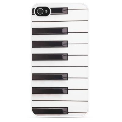 Чехол для iPhone Клавиши фортепиано