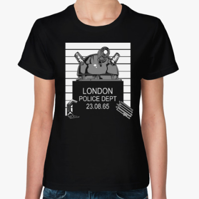 Женская футболка Далек