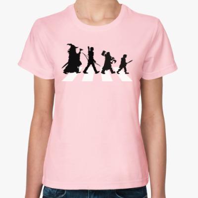 Женская футболка Властелин Колец - Abbey Road