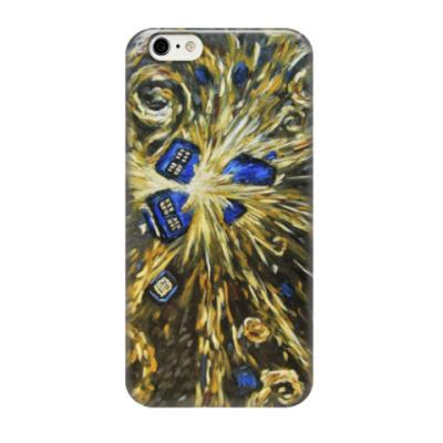 Чехол для iPhone 6/6s Тардис Ван Гога (Van Gogh Tardis)