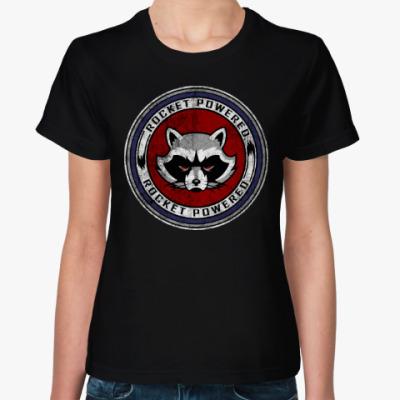 Женская футболка Rocked Powered
