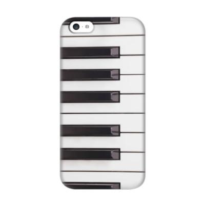 Чехол для iPhone 5c Клавиши фортепиано