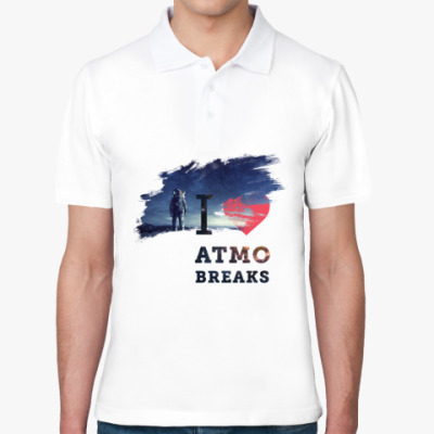 Рубашка поло I love atmo breaks