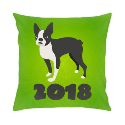 Подушка Год собаки 2018